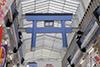 Total panjang 2Km, pertokoan terpanjang di Jepang, berjarak 3 min jalan kaki